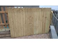 4 foot fence panels