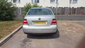 VW bora ST 180bhp. 12 months mot .low mileage. very quick .drives lovely