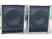 Bass Bins,Cabinets,Cabs,Loud Speakers - Emminence Kappa 500watts x 2
