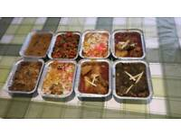 Food catering , Dinner and party catering . food freshly made . Indian, italian and mexican food