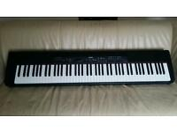 Yamaha Stage Piano Keyboard (88 Weighted Keys) - With Pedal & New Stand too