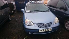 2003 SUZUKI LIANA GLX AUTO, 1.6 PETROL, BREAKING FOR PARTS ONLY, POSTAGE AVAILABLE NATIONWIDE