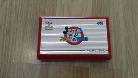 NINTENDO GAME AND WATCH DISNEY MICKEY AND DONALD GAME RARE