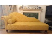 Dandelion-coloured Chaise Lounge