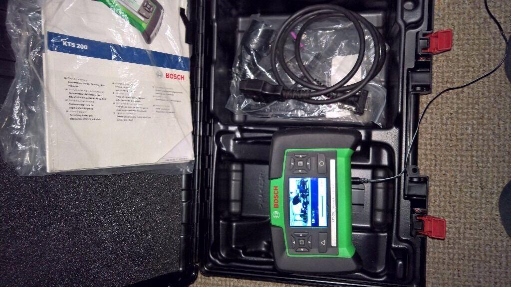 Bosch Kts 200,auto Diagnostic,scanner
