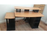 Large computer desk