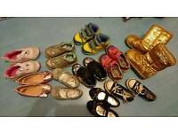 Bundle of girls shoes size 8