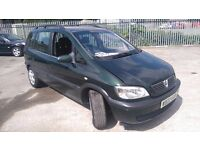 Vauxhall Zafira 1.6 Petrol 2000 12 Months MOT 7 SEATER GOOD CONDITION DRIVE MINT P/X WELCOME