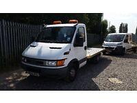 2005 iveco dayli recovery truck full aluminium