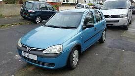 Vauxhall Corsa 1.7 Di Turbo Diesel Metalic Blue 105533 Miles