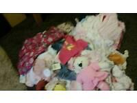 Baby girls clothes newborn to 9 months