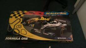 Job lot scaletrux/other car track need of a bit of tlc