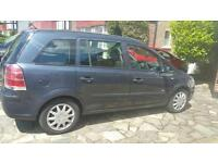 vauxhall zafira 1.6 petrol 7 seater 127000 miles excellent condition call 07894159533
