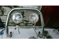 Nissan navara light bar