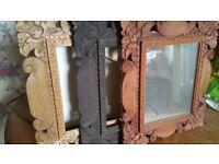 Hand Carved Wooden Frames