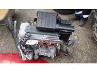 2005-2010 SUZUKI SWIFT 1.3 PETROL M13A COMPLETE ENGINE 48,000 MILEAGE ONLY