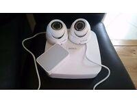 CCTV Kit with 2 cameras, POE System