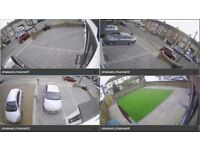 4 x Full HD CCTV Cameras Set - Mobile viewing - Live or playback recording