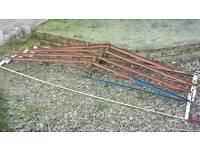 Shed or Garage roof frame