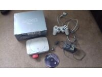 SONY PLAYSTATION 1 WITH CONTROLLER,1MB MEMORY CARD AND HARRY POTTER AND THE PHILOSOPHERS STONE