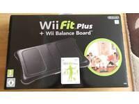 Unused - Nintendo Wii Fit Plus + Balance Board