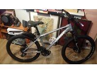 Mountain bike, fluid disc brake, 24 gear , size Small