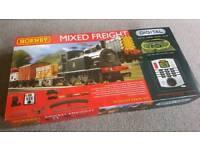 New Hornby Mixed Freight Digital Train Set