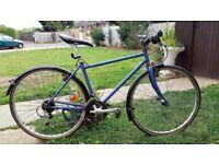 "Mens Raleigh 21 Speed Hybrid Bike - 26"""