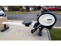 HARDLY USED - YORK FITNESS PERFORM 210 ROWING MACHINE