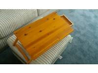 Tray for lap, bed or table