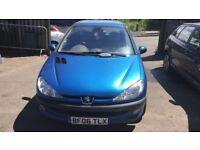 2006 Peugeot 206 Se 3dr 1.4 Petrol Blue BREAKING FOR SPARES