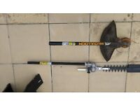 Hedge and Strimmer attachments