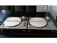Technics SL 1200 MK2 Turntable - pair