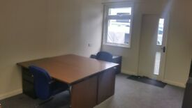 Modern office on gated secure site with high speed internet available
