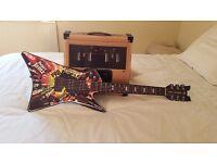 Paper jamz electric sounding guitar and amplifier