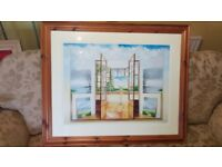The creative frame of mind - Neil Simone surreal art framed - limited edition