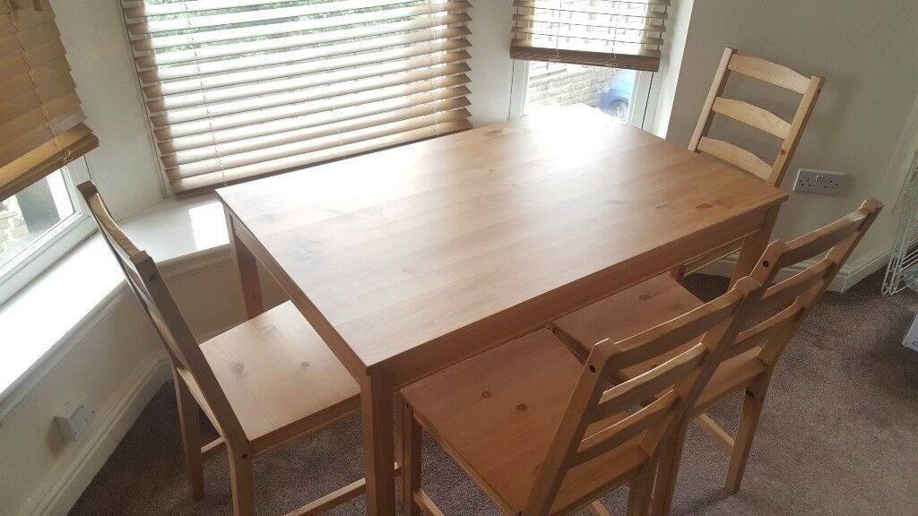 Ikea Jokkmokk Dining Table Amp 4 Chairs As New Perfect