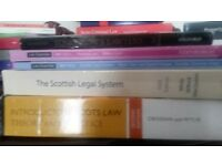 30 Law Book books for sale perfect of LLB students