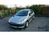 Peugeot 206 for sale MOT till October
