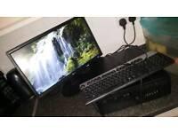 HP Desktop PC with Windows 7 250gb