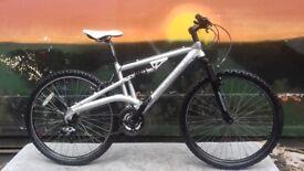 Diamond Back Vector Full Suspension Aluminium Mountain Bike (medium)