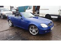 01 slk convertible cabriolet MAY PART EXCHANGE