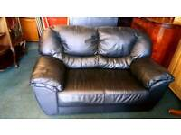 Sofa Two Seater real leather sofa