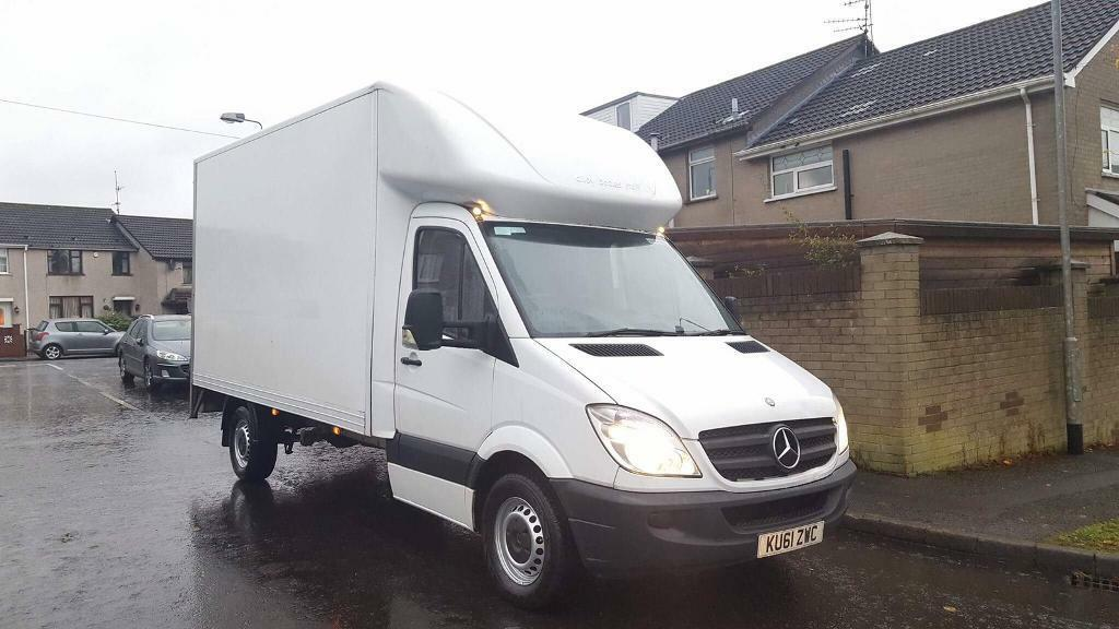 2011 Mercedes Sprinter Luton with Tail-lift NO VAT