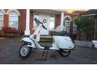 "VESPA PK50 ORIGINAL ITALIAN WITH LOGBOOK IDEAL FOR CLASSIC LOVERS ""VESPA 50"""