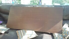 Vintage Retro 1960s Mahogany Headboard by Nathan - 4ft wide x 21 inches high
