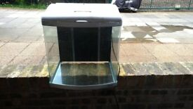 Orca MT50 Mini Aquarium 110L / 24Gal including filter system, ornaments gravel water pump and light