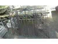 Wrought iron gates*Antique/Vintage*