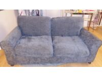 (As new ) grey, pull- out sofa bed - Excellent condition.