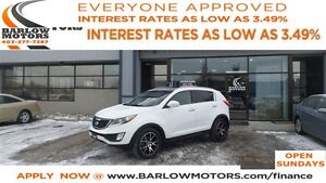 2011 Kia Sportage SX *EVERYONE APPROVED*APPLY NOW DRIVE NOW!